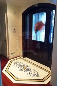 marble floor entrance
