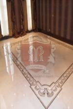 Custom Marble Floor Border