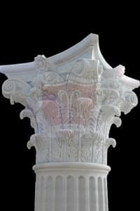 marble Column Corinthian Capital