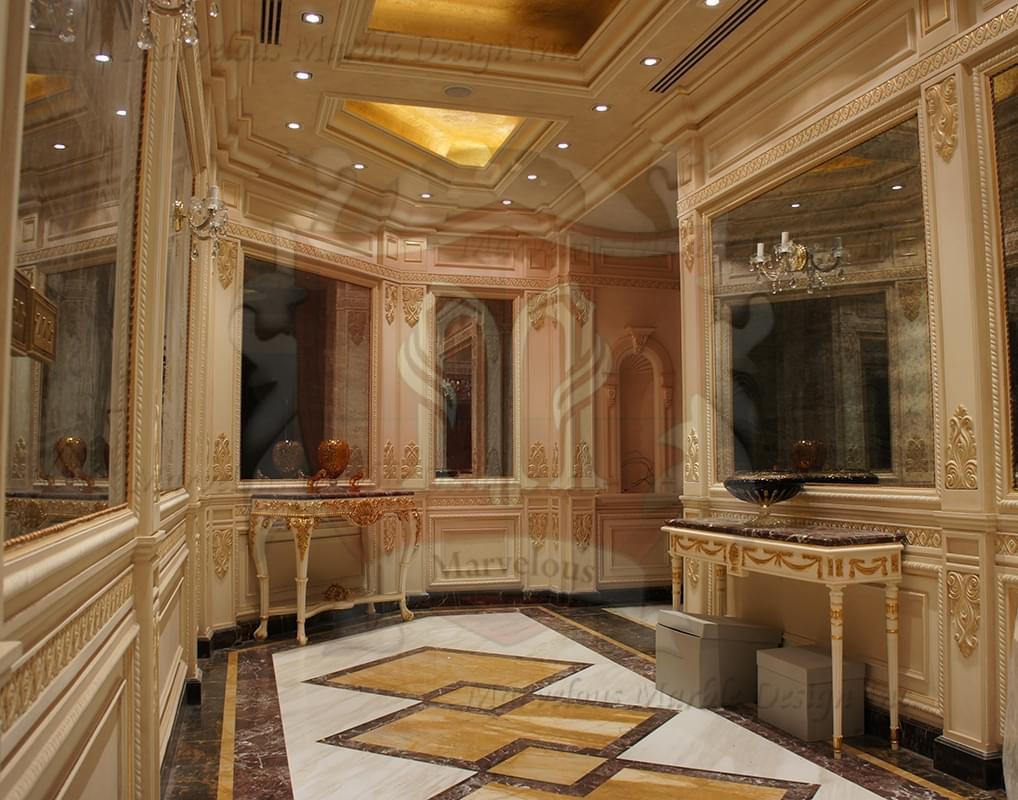 Marble Tile Flooring Ideas: Marble Floor Borders