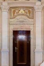 Italian Limestone Pilaster for Luxury Mansion