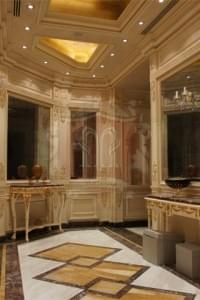 Luxury Marble Floor Design